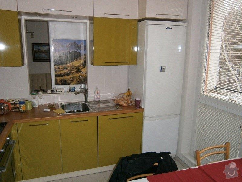Rekonstrukce bytového jádra, stavební úpravy kuchyně a chodby: 10
