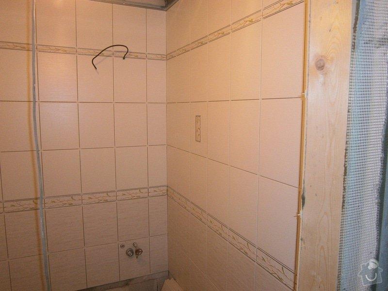 Rekonstrukce bytového jádra, stavební úpravy kuchyně a chodby: 13