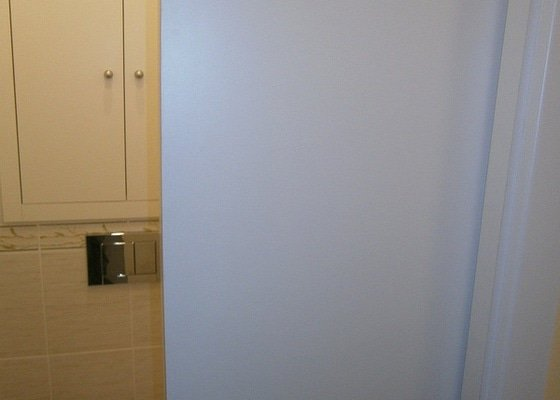 Rekonstrukce bytového jádra, stavební úpravy kuchyně a chodby