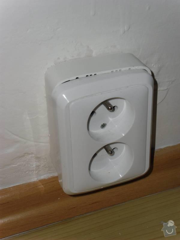Nová elektroinstalace v panel. bytě 2+kk: SAM_2443