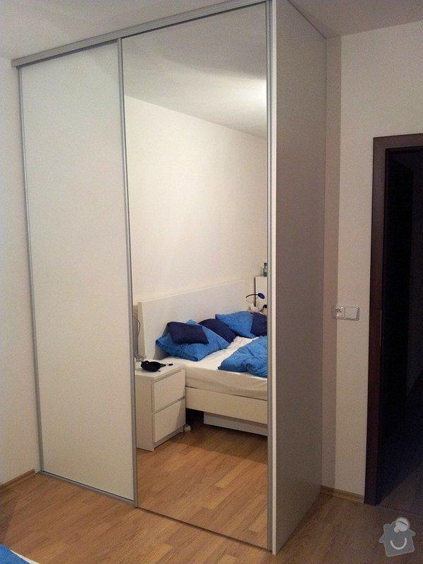 Výroba a montáž skříně a předsíňové stěny se šatní skříní na míru: 20131116_173724