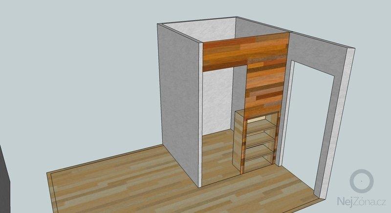 Nábytek na míru (šatní skříň, knihovna, šatna): satna-nacrt