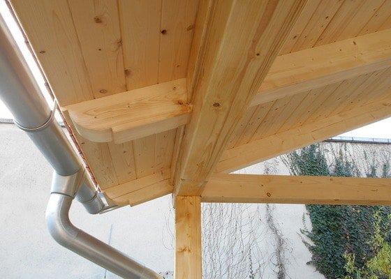 Postavení dřevěné terasy