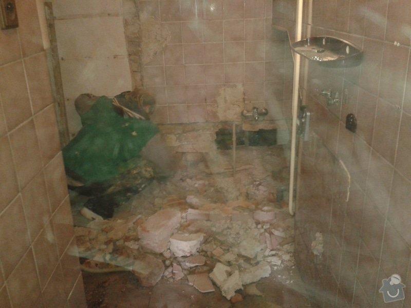 Rekonstrukce koupelny: 20131104_085633