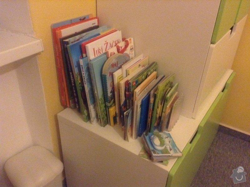 Výroba police, dětské knihovny a PC stolku: obrazek_2