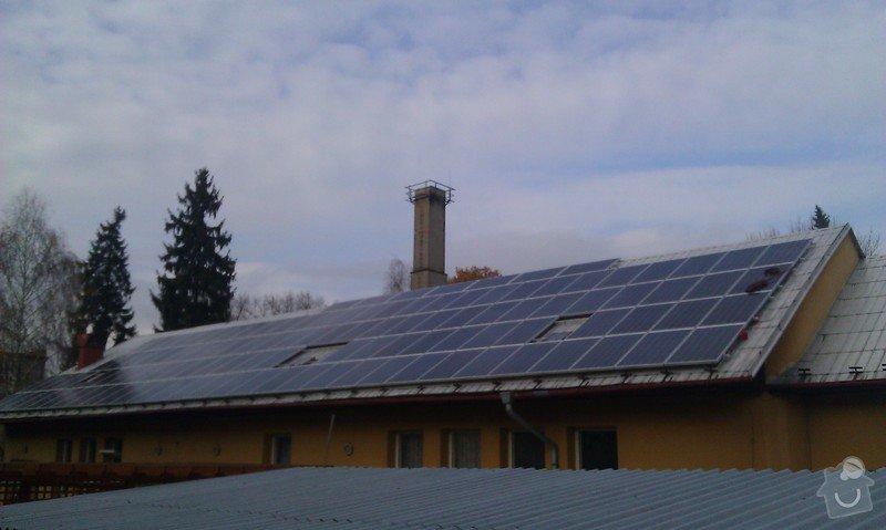 Montáž solární elektrárny + výstavba 2ks trafostanic na klíč pro bioplynné stanice Pacov a Kunčina: IMAG0268
