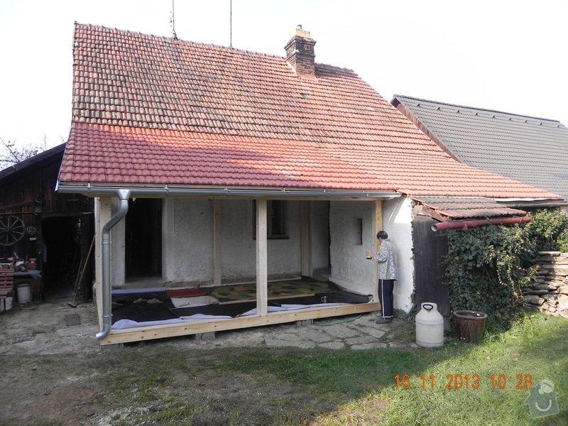 Postavení dřevěné terasy: DSCN0831