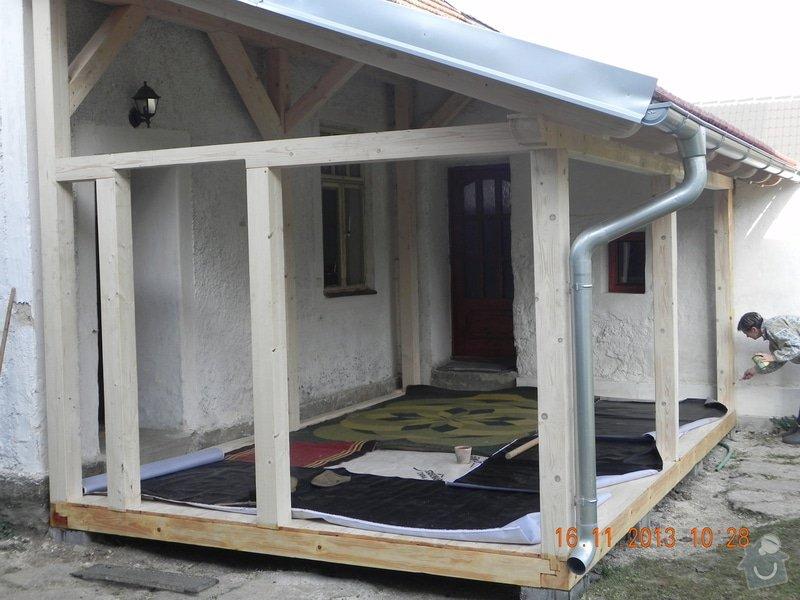 Postavení dřevěné terasy: DSCN0833