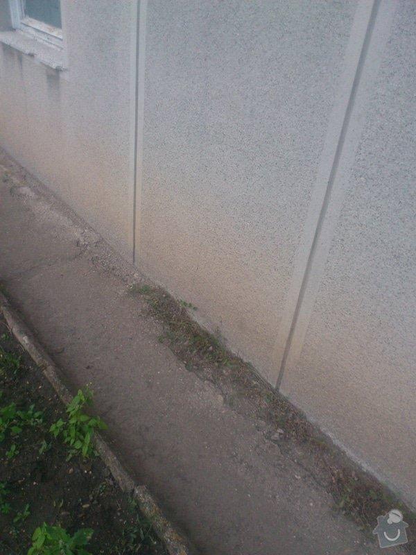 Izolace spodní stavby včetně soklu: DSC_0348