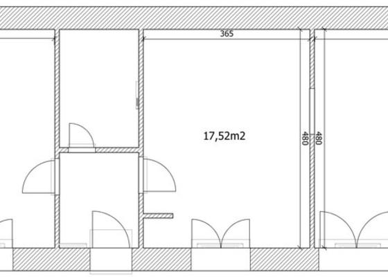 Polozeni plovouci podlahy 54m2