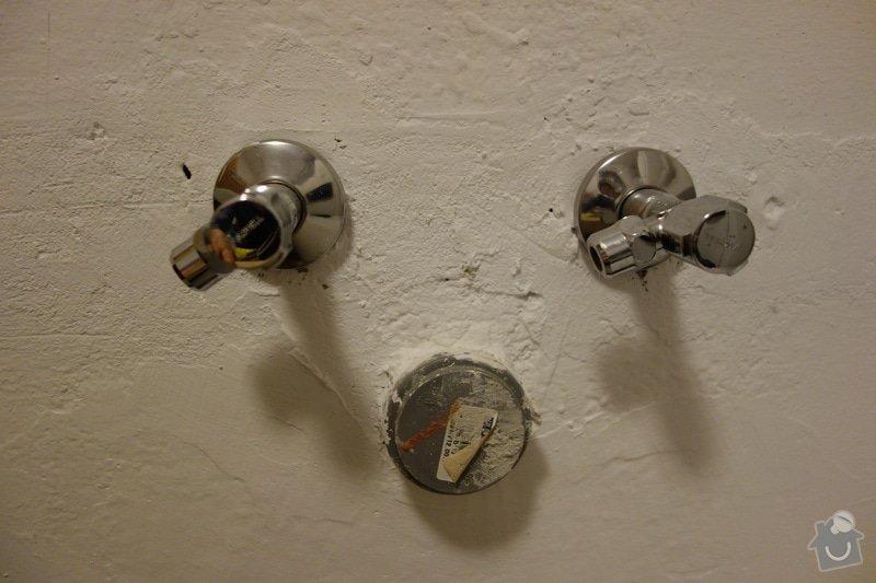 Instalace sprchoveho koutu a umyvadla ve Vidni: DSC01853
