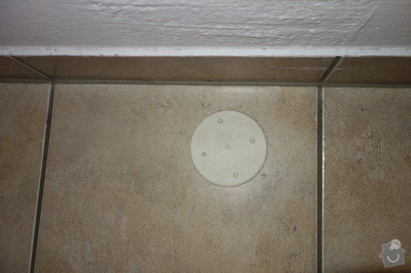 Instalace sprchoveho koutu a umyvadla ve Vidni: DSC01856