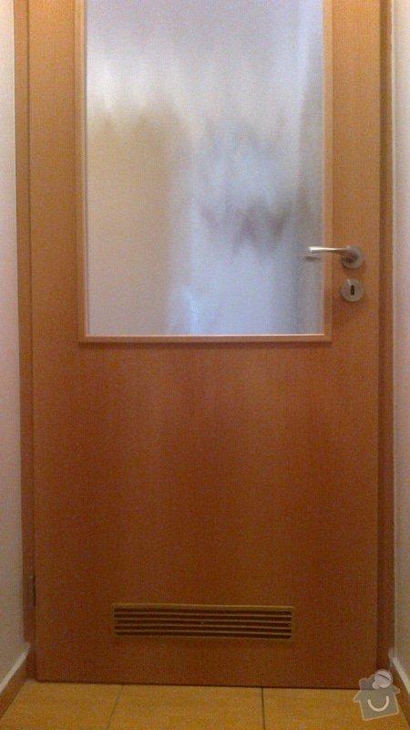 Úprava dveří: Dvere