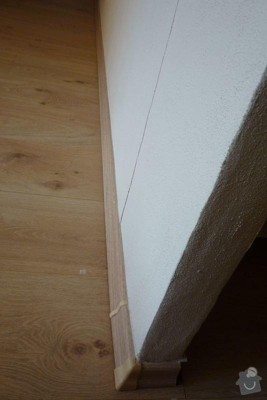 Štukování, položení podlahy: 10