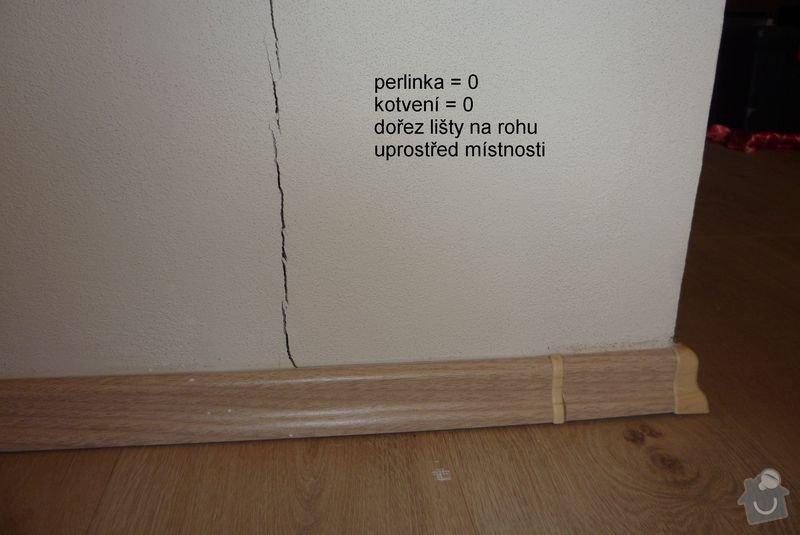 Štukování, položení podlahy: 11