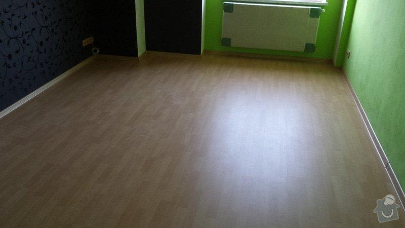 Pokládka plovoucí podlahy : 20130929_171030