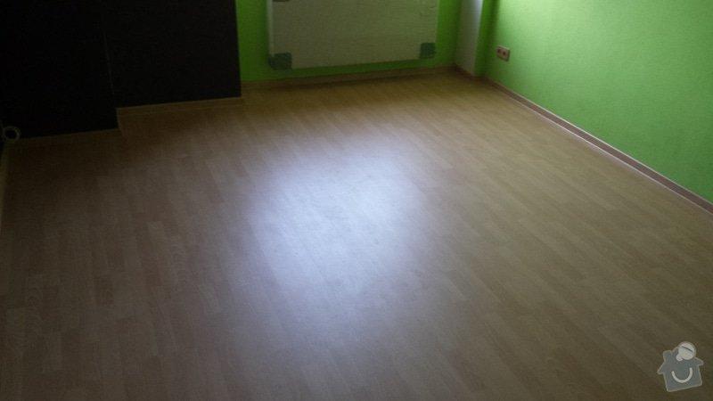 Pokládka plovoucí podlahy : 20130929_171037