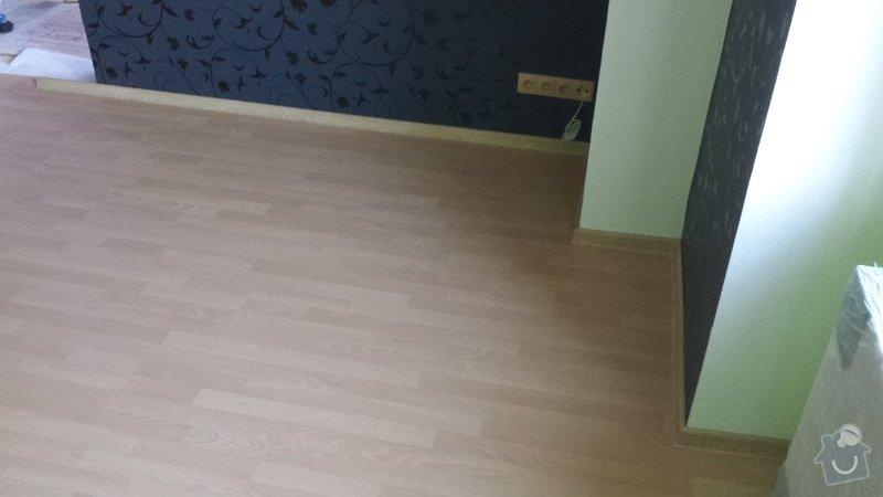 Pokládka plovoucí podlahy : 20130929_171048