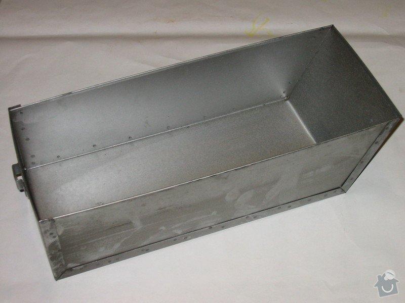 Výroba popelníku do kamen: popelnik