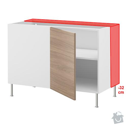 Frézovaný spoj + kolíkový spoj kuch. deska + úprava skříněk IKEA: faktum_modifikace_2