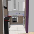 Frezovany spoj kolikovy spoj kuch deska uprava skrinek ikea kuchyn popis