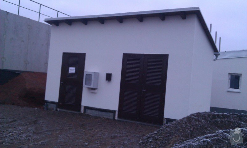 Montáž solární elektrárny + výstavba 2ks trafostanic na klíč pro bioplynné stanice Pacov a Kunčina: vystavba-trafostanic_IMAG0269