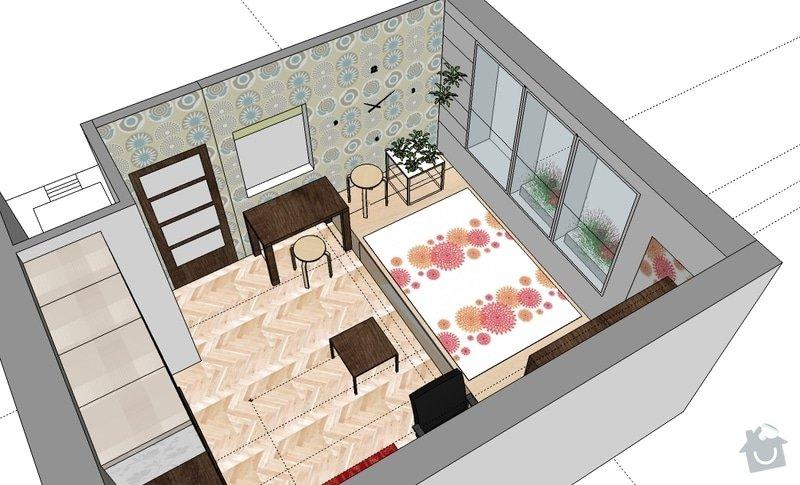 """Výroba """"pódia"""" s výsuvnou postelí: hela_1_var_b"""