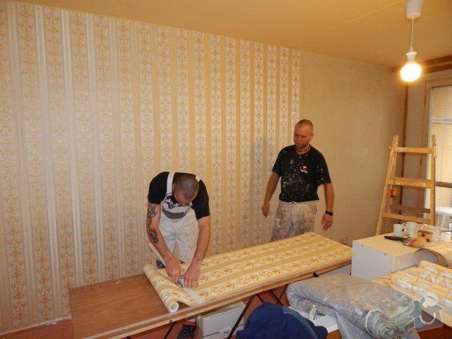 Vymalování a tapetování, 1 místnost v paneláku: DSCN1110