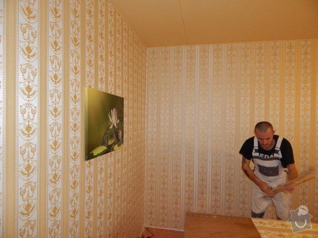 Vymalování a tapetování, 1 místnost v paneláku: DSCN1111