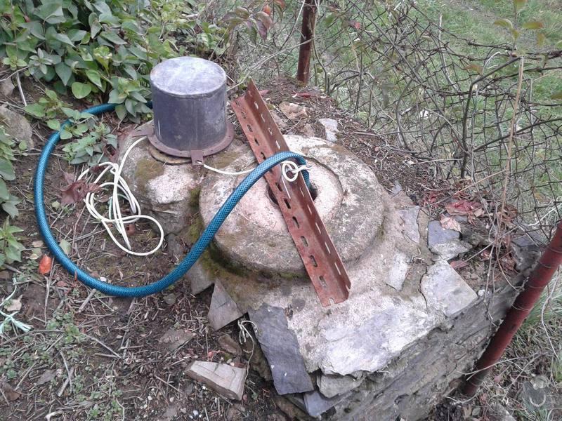 Vybudování nové šachty ke stávající studni: studna1
