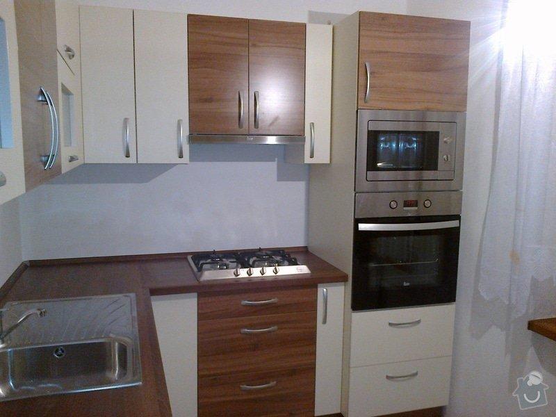 Realizace nové kuchyně včetně vestavěných spotřebičů: 20112013200