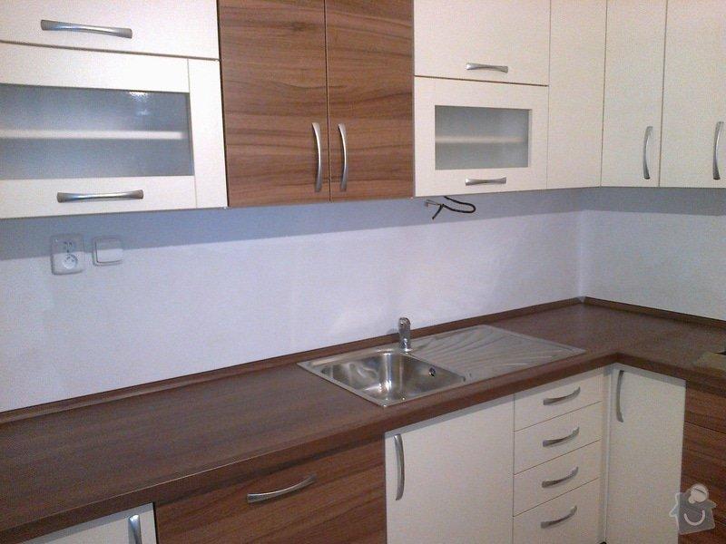 Realizace nové kuchyně včetně vestavěných spotřebičů: 20112013202