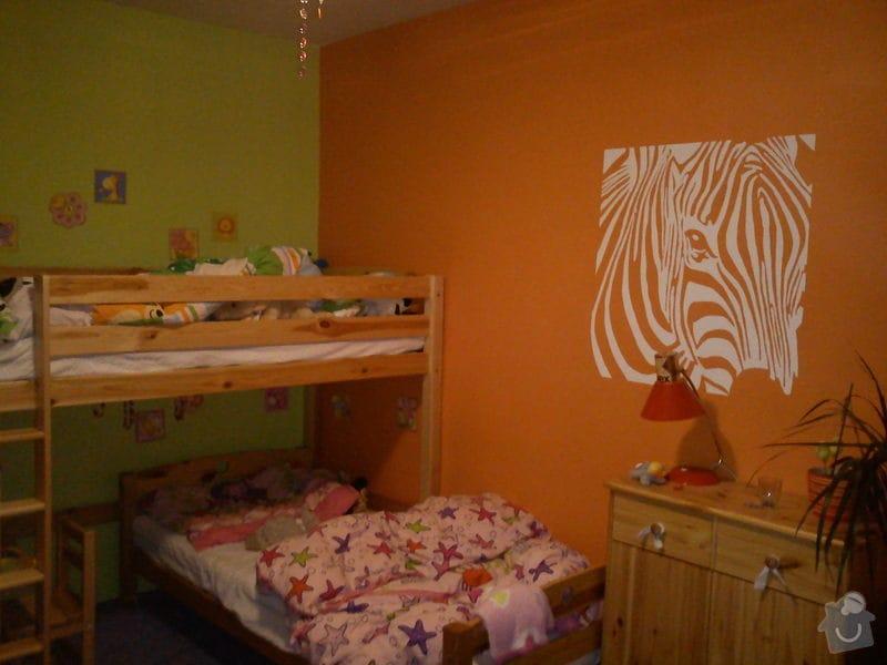 Vymalování bytu a obraz do dětského pokoje: zebra1