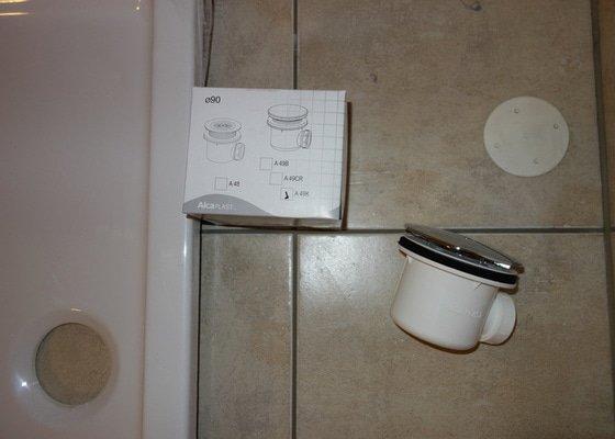 Instalace sprchoveho koutu a umyvadla ve Vidni