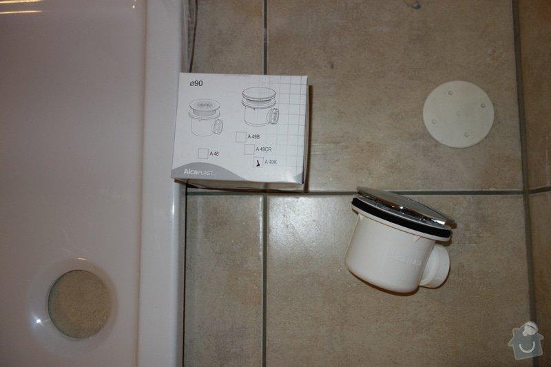 Instalace sprchoveho koutu a umyvadla ve Vidni: DSC01884