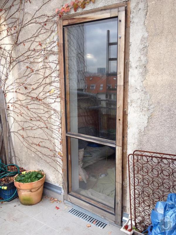 Oprava dveri na terasu: dvere2