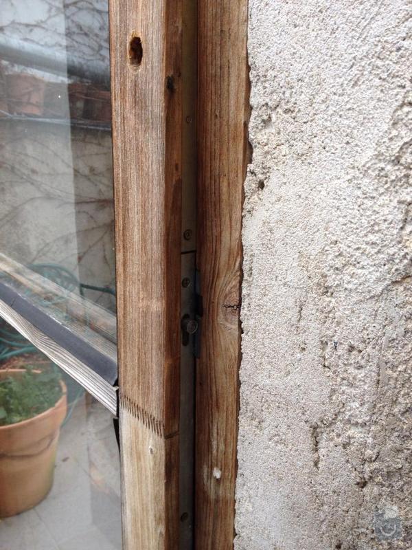 Oprava dveri na terasu: dvere3
