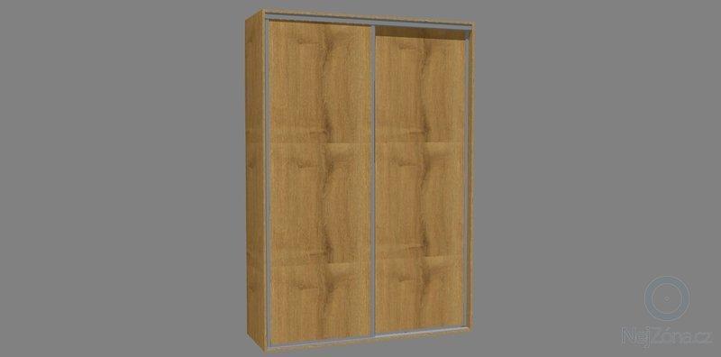 Vestavěné skříně 3x: komora_dvere