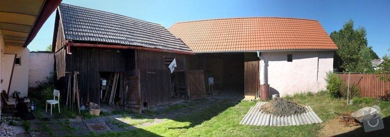 Posudek stavu současné střechy: DSCF1840_panorama