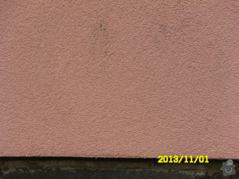 Čištění fasády RD: SDC12376