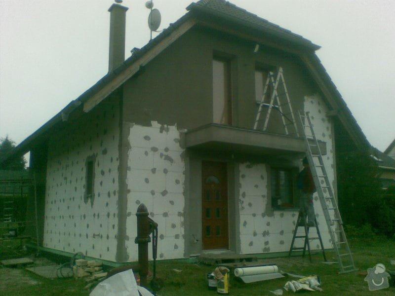 Natažení fasády RD tzv. do lepidla: 004_2_