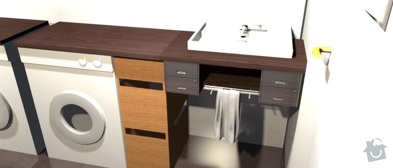 Výroba desky pod umývadlo: kupelna_viva1