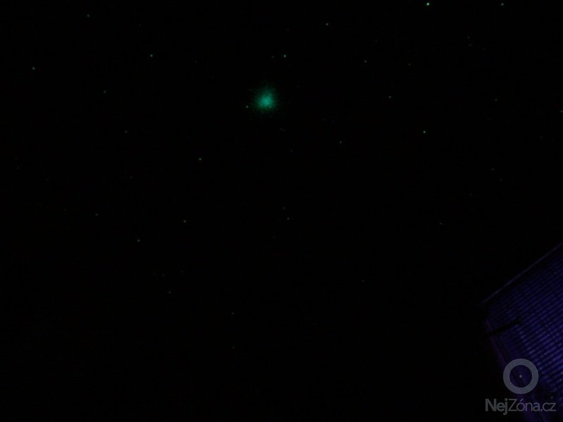 Dekorace dětského pokoje noční oblohou: P1230032