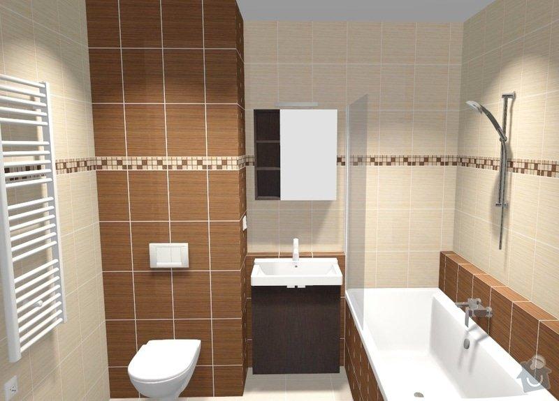 Rekonstrukce bytového jádra: var2_pohled2