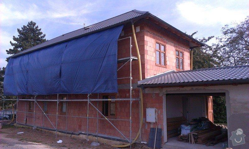 Zhotovení zateplovací fasády: IMAG0355