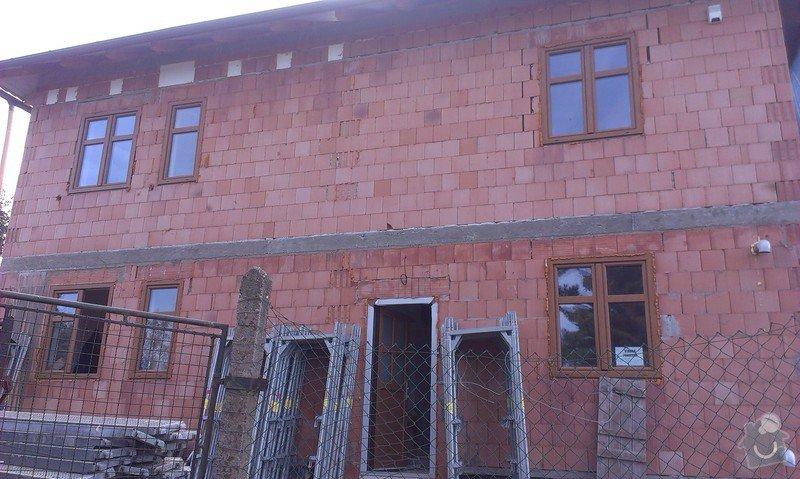 Zhotovení zateplovací fasády: IMAG0356