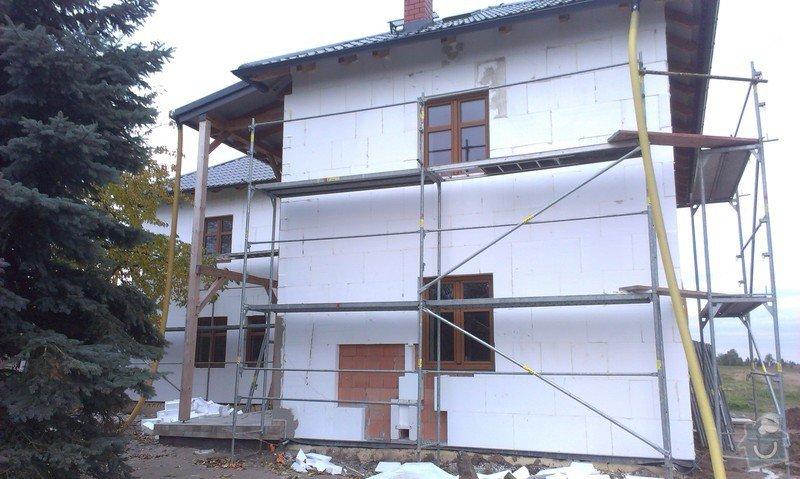 Zhotovení zateplovací fasády: IMAG0368