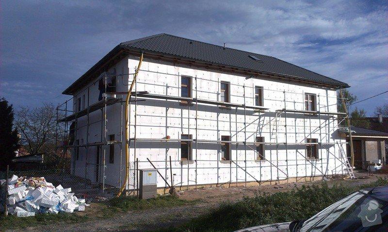 Zhotovení zateplovací fasády: IMAG0377