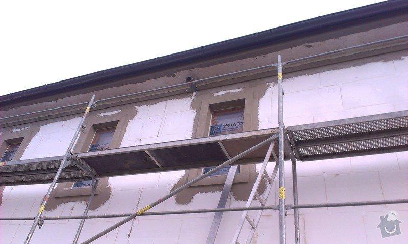 Zhotovení zateplovací fasády: IMAG0383