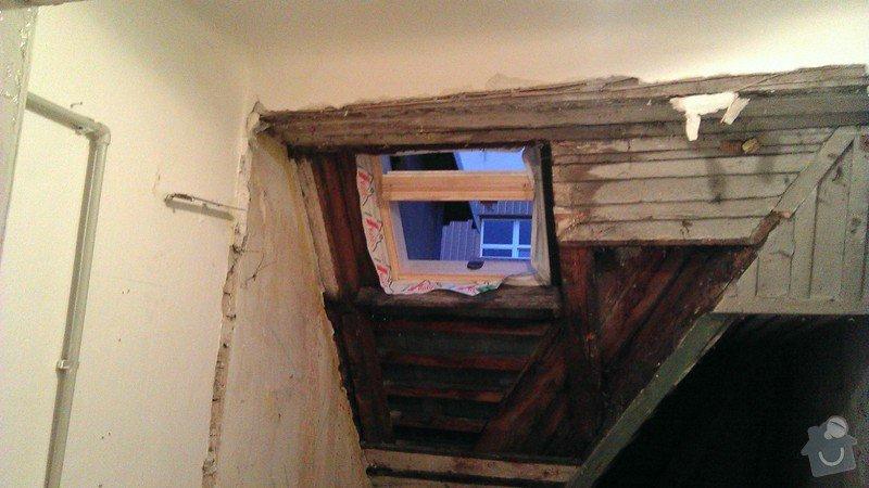 Přestavba komory na koupelnu pro hosty: foto1